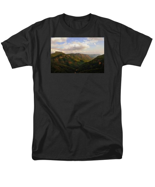 Men's T-Shirt  (Regular Fit) featuring the photograph Wiseman's View by Jessica Brawley