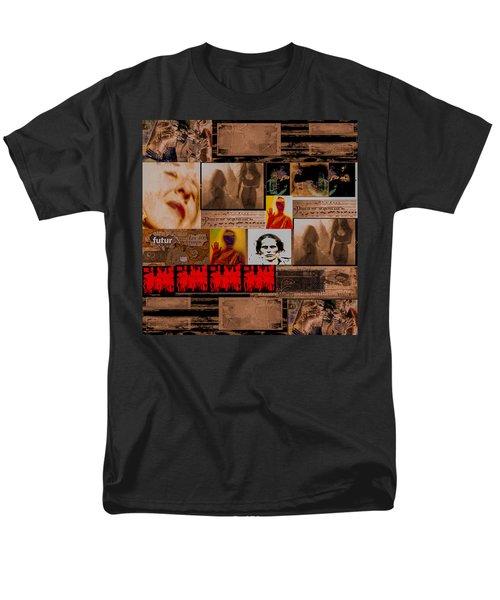 Woman Power Story Men's T-Shirt  (Regular Fit) by Danica Radman