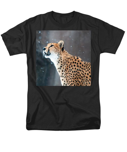 Men's T-Shirt  (Regular Fit) featuring the photograph Wonder Of Snow by Lula Adams