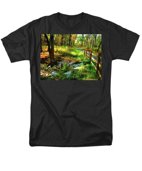 Woodland Symphony Men's T-Shirt  (Regular Fit) by Cedric Hampton