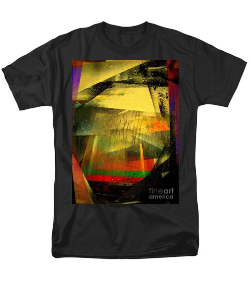 Men's T-Shirt  (Regular Fit) featuring the painting Work Bench by Greg Moores