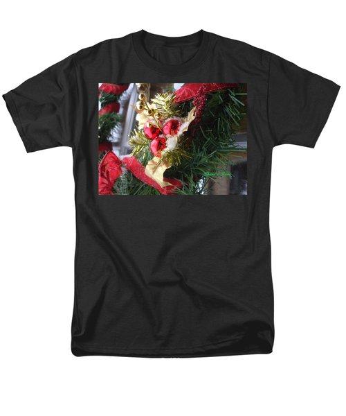 Men's T-Shirt  (Regular Fit) featuring the photograph Wreath by Shana Rowe Jackson