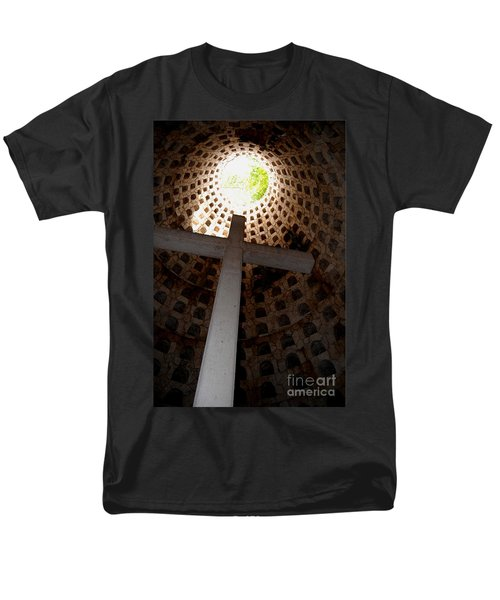Xcaret Cemetery Catacomb Men's T-Shirt  (Regular Fit) by Angela Murray
