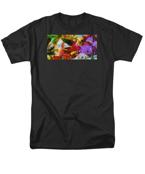 Xtreme Floral Three Riot Men's T-Shirt  (Regular Fit) by Spyder Webb