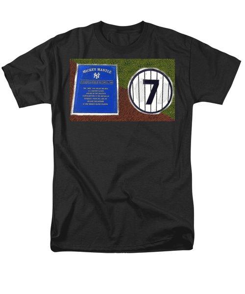 Yankee Legends Number 7 Men's T-Shirt  (Regular Fit) by David Lee Thompson