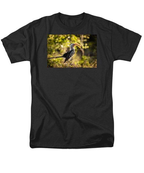 Yellow-billed Hornbill Men's T-Shirt  (Regular Fit) by Stefan Nielsen