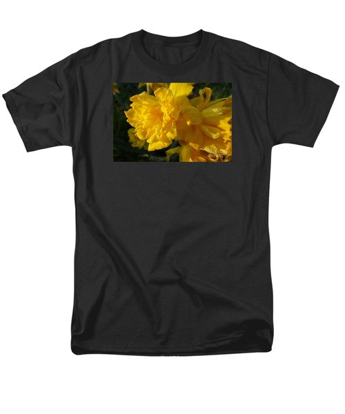 Yellow Daffodils Men's T-Shirt  (Regular Fit) by Jean Bernard Roussilhe