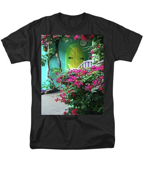 Yellow Door Men's T-Shirt  (Regular Fit)