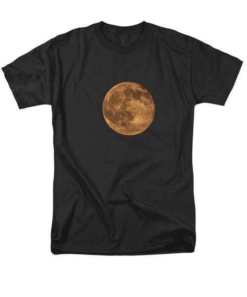 Yellow Moon Men's T-Shirt  (Regular Fit) by Gunter Nezhoda