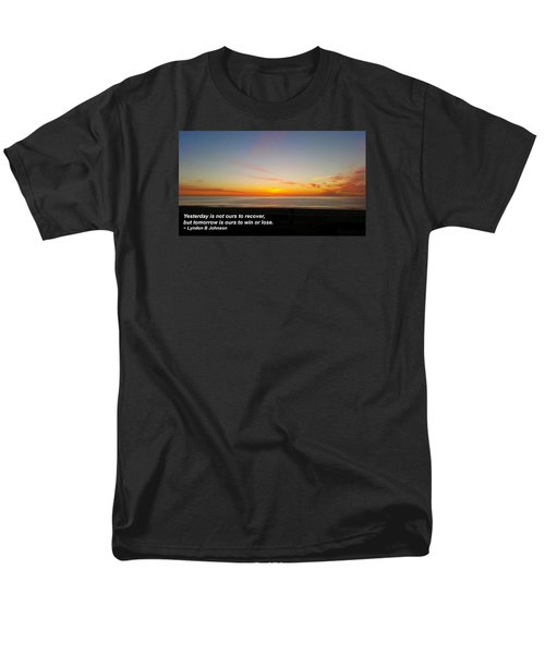 Yesterday Is Not Ours... Men's T-Shirt  (Regular Fit)
