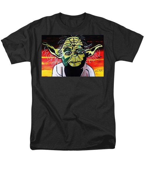 Yoda  Come Home Men's T-Shirt  (Regular Fit) by Nora Shepley