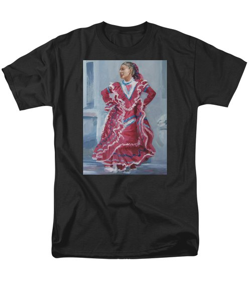 Young Dancer At Arneson Theater Men's T-Shirt  (Regular Fit) by Connie Schaertl