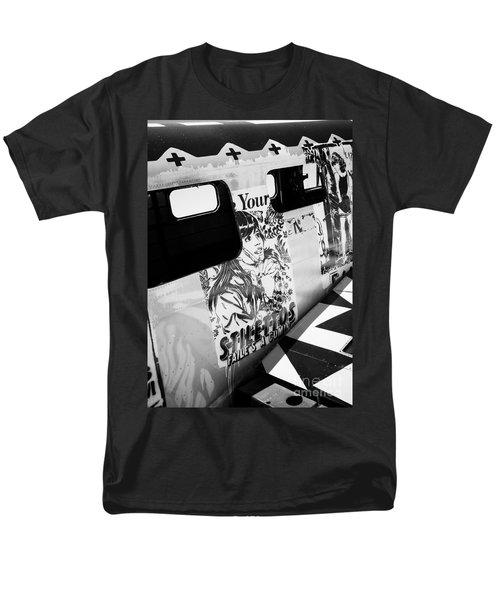 Men's T-Shirt  (Regular Fit) featuring the photograph Your Stilletos by Chris Dutton