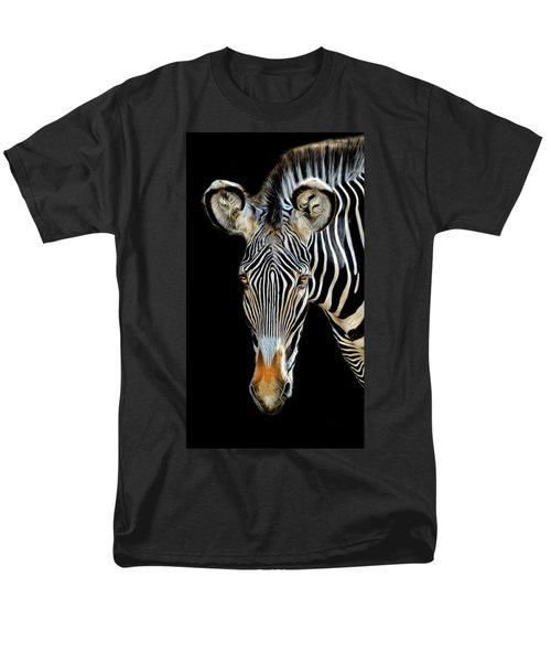 Zebra Men's T-Shirt  (Regular Fit) by Dave Mills