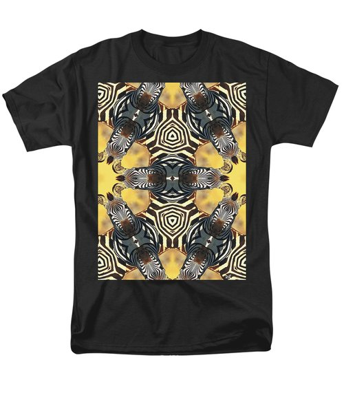 Zebra II Men's T-Shirt  (Regular Fit) by Maria Watt