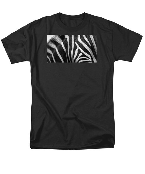 Zebra Stripes Men's T-Shirt  (Regular Fit) by Racheal  Christian