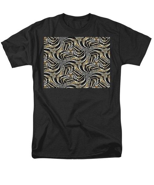 Zebra Vii Men's T-Shirt  (Regular Fit) by Maria Watt