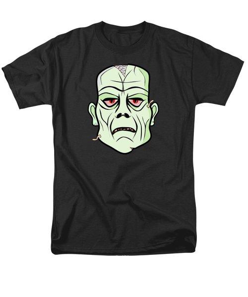 Zombie Head Men's T-Shirt  (Regular Fit) by Martin Capek
