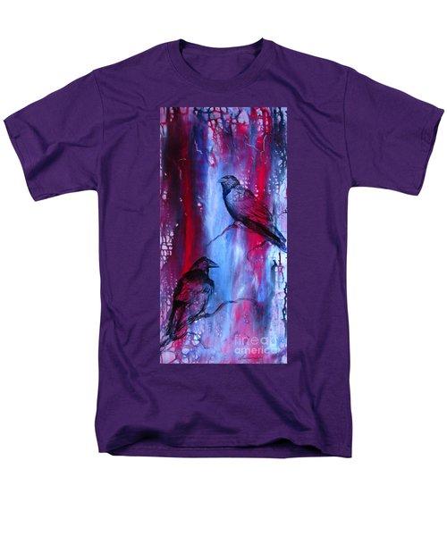 Dark Wings Men's T-Shirt  (Regular Fit) by Laurianna Taylor
