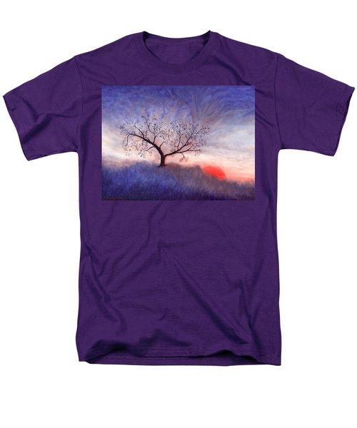 A Wintering Tree Men's T-Shirt  (Regular Fit) by Mark Minier