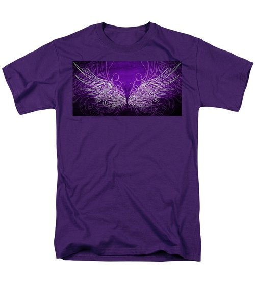 Angel Wings Royal Men's T-Shirt  (Regular Fit) by Angelina Vick