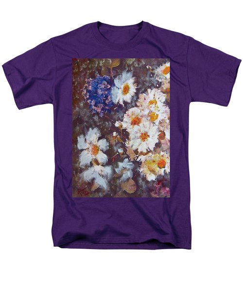 Another Cluster Of Daisies Men's T-Shirt  (Regular Fit) by Richard James Digance