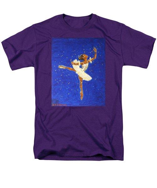 Black Ballerina Men's T-Shirt  (Regular Fit) by Stormm Bradshaw