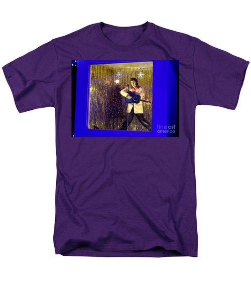 Blue Christmas Without Elvis Men's T-Shirt  (Regular Fit)