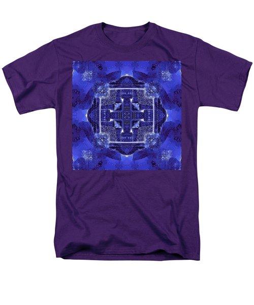 Blue Cross Radiance Men's T-Shirt  (Regular Fit) by David Mckinney
