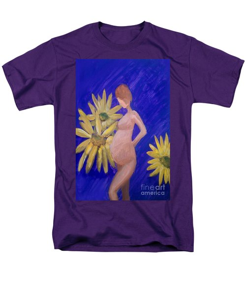 Men's T-Shirt  (Regular Fit) featuring the painting Bringer Of Life by Marisela Mungia