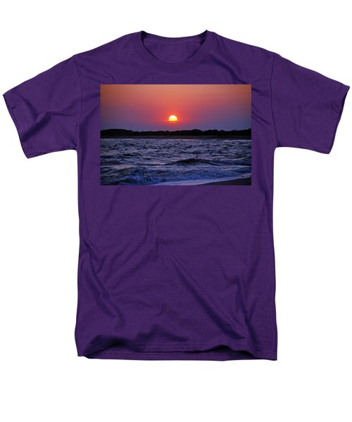 Cape May Sunset Men's T-Shirt  (Regular Fit) by Richard Bryce and Family
