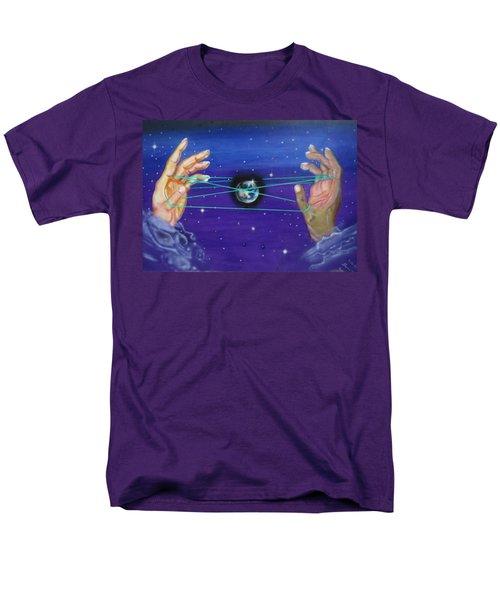 Celestial Cats Cradle Men's T-Shirt  (Regular Fit)