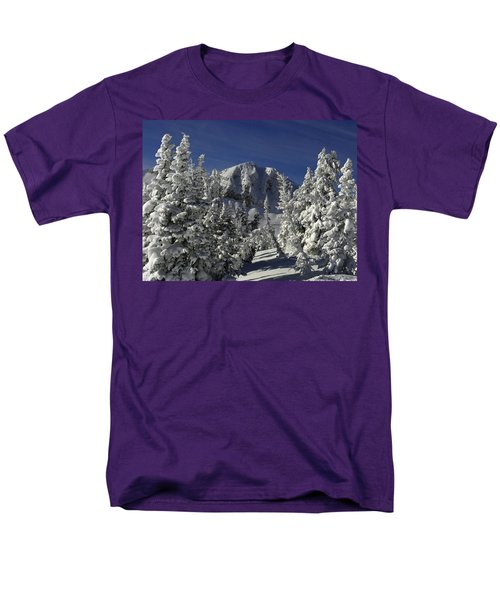 Cody Peak After A Snow Men's T-Shirt  (Regular Fit) by Raymond Salani III