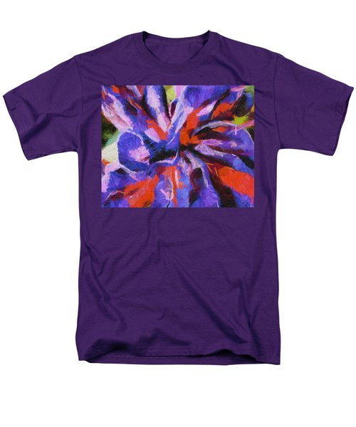 Men's T-Shirt  (Regular Fit) featuring the digital art Color My Insecurity by Joe Misrasi