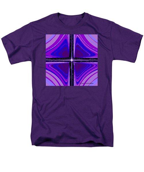 Men's T-Shirt  (Regular Fit) featuring the digital art Cool Tones by Joan Hartenstein