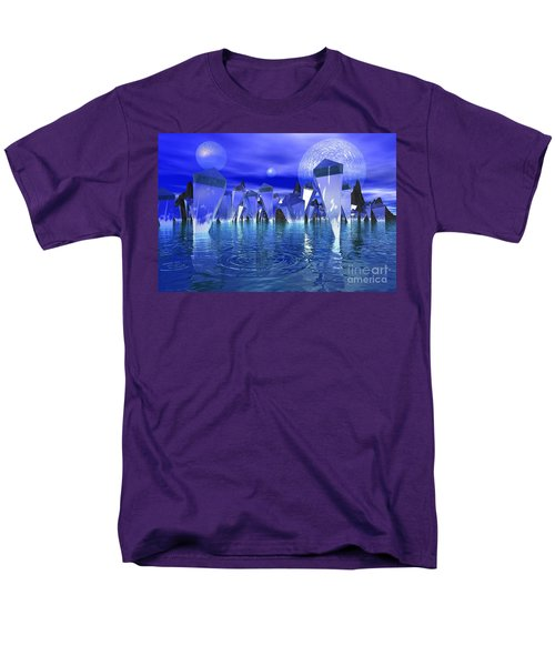 Men's T-Shirt  (Regular Fit) featuring the photograph Crystal River by Mark Blauhoefer