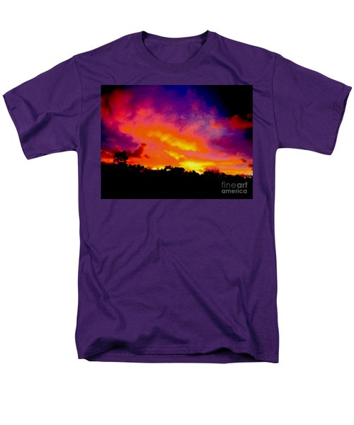 Men's T-Shirt  (Regular Fit) featuring the photograph Crystal Sunrise by Mark Blauhoefer