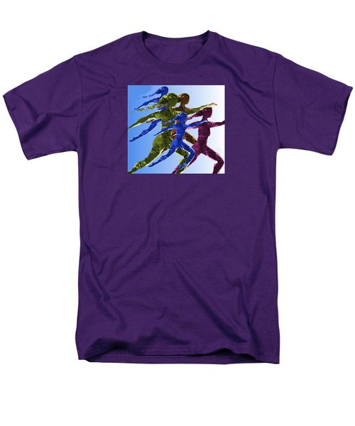 Dancers Men's T-Shirt  (Regular Fit) by Mary Armstrong