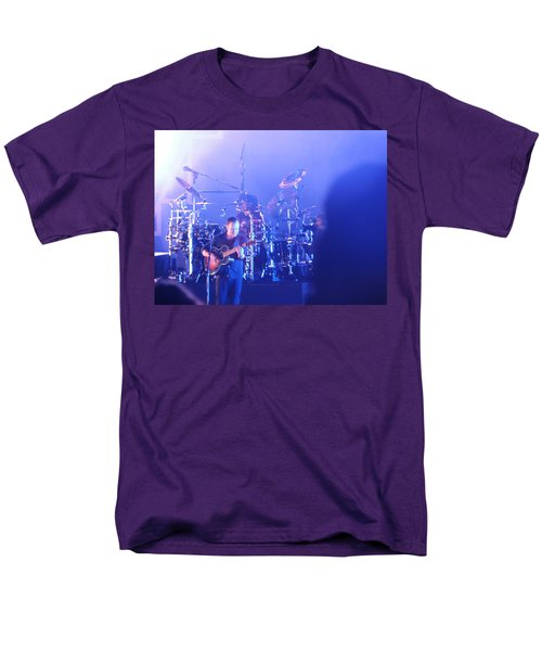 Dave Matthews Jamming In Tampa Flordia  Men's T-Shirt  (Regular Fit) by Aaron Martens