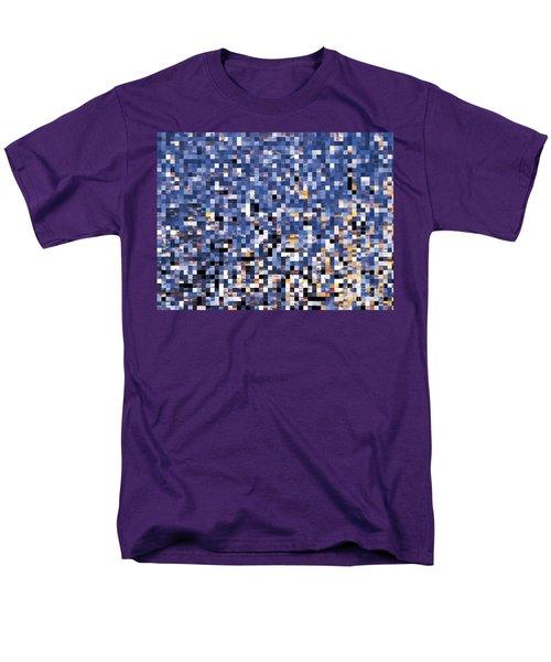 Digital Sunset Men's T-Shirt  (Regular Fit) by Nina Ficur Feenan