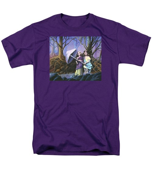 Enchanted Forest Men's T-Shirt  (Regular Fit) by Vivien Rhyan
