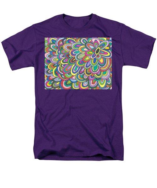 Flower Power Men's T-Shirt  (Regular Fit) by Susie Weber