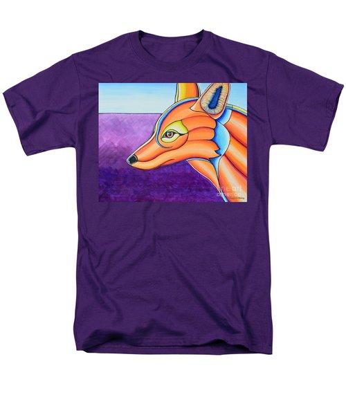 Men's T-Shirt  (Regular Fit) featuring the painting Fox 1 by Joseph J Stevens