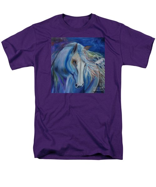 Men's T-Shirt  (Regular Fit) featuring the painting Gypsy Shadow by Jenny Lee
