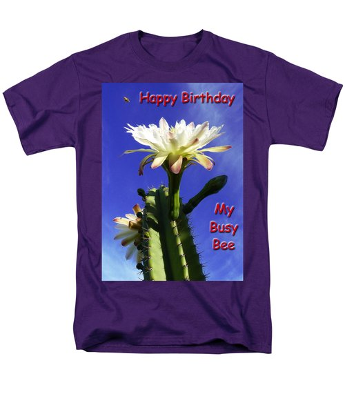 Men's T-Shirt  (Regular Fit) featuring the photograph Happy Birthday Card And Print 15 by Mariusz Kula