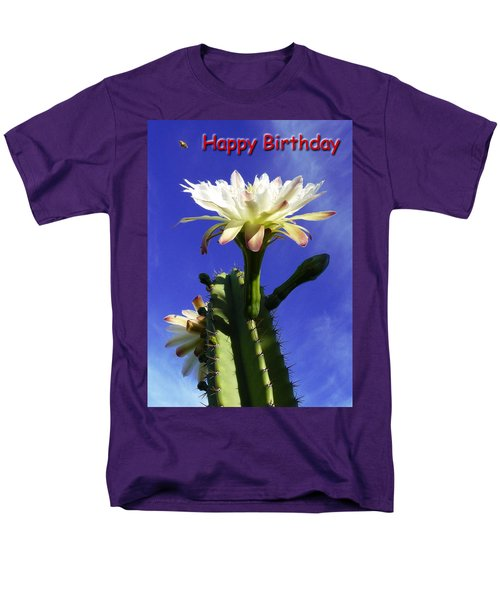 Men's T-Shirt  (Regular Fit) featuring the photograph Happy Birthday Card And Print 16 by Mariusz Kula