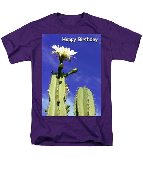 Men's T-Shirt  (Regular Fit) featuring the photograph Happy Birthday Card And Print 17 by Mariusz Kula