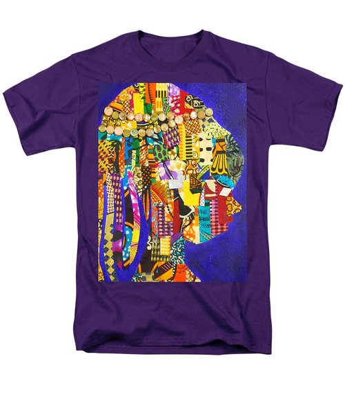 Men's T-Shirt  (Regular Fit) featuring the tapestry - textile Imani by Apanaki Temitayo M