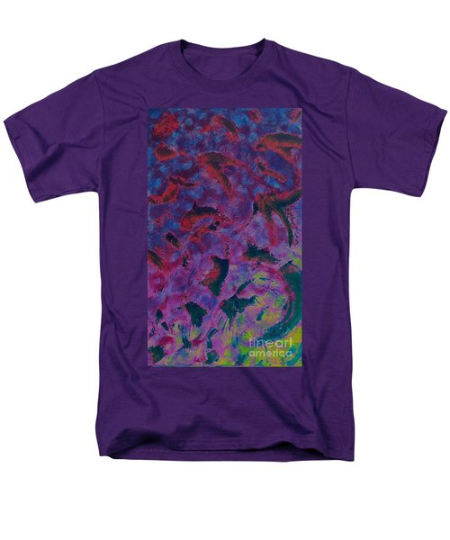 Men's T-Shirt  (Regular Fit) featuring the painting In The Mind's Eye by Jacqueline McReynolds