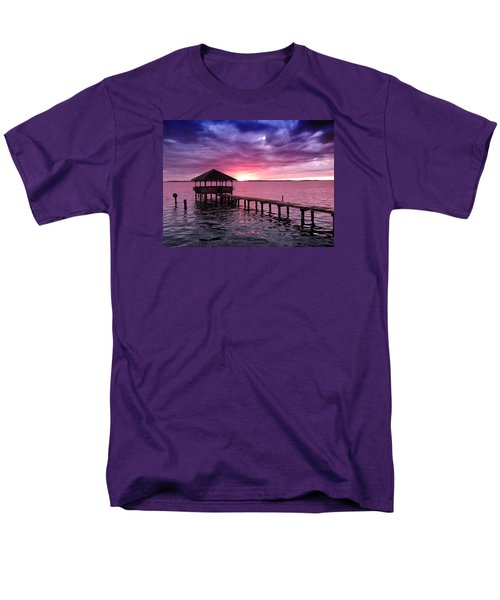 Men's T-Shirt  (Regular Fit) featuring the photograph Into The Horizon by Rebecca Davis
